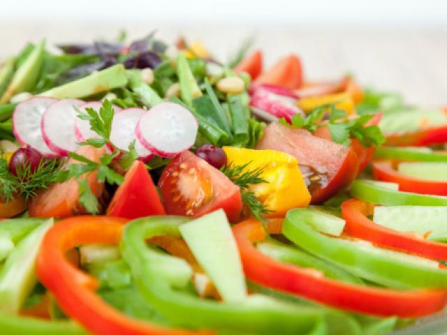Góc đồ họa - Thực phẩm giúp người ăn chay đủ chất