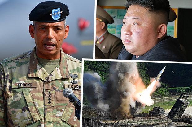 Tướng 4 sao Mỹ nói chờ lệnh chiến tranh với Triều Tiên - 1