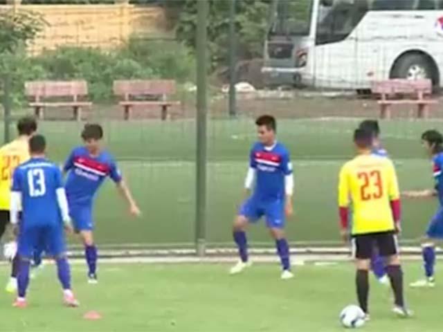 U23 Việt Nam: Công Phượng đua ghi bàn với Đức Chinh