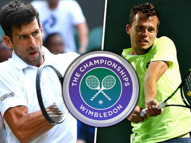 Djokovic- Pavlasek: Ra đòn không ngơi nghỉ (Vòng 2 Wimbledon)