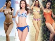 """Dáng chuẩn  """" hình chiếc bình """"  của 6 hoa hậu hấp dẫn nhất Việt Nam"""