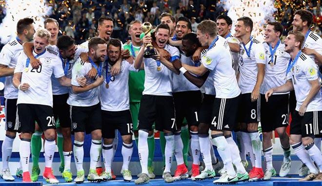 """BXH FIFA tháng 7: """"Xe tăng"""" Đức vượt Brazil, làm """"vua"""" thế giới - 1"""