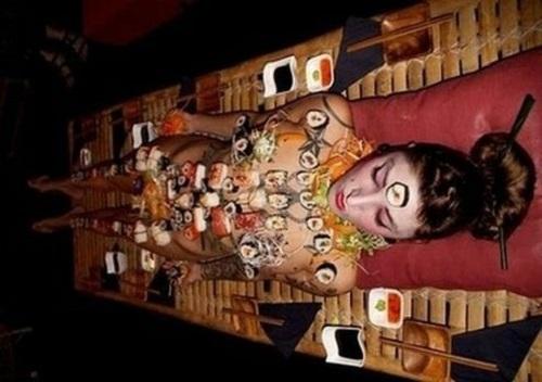 Sự thật trần trụi của nghề mẫu nude tiệc sushi - 1