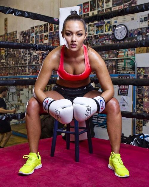 Nữ võ sỹ bật mí sức mạnh chiến thắng là nhờ... đàn ông - 6