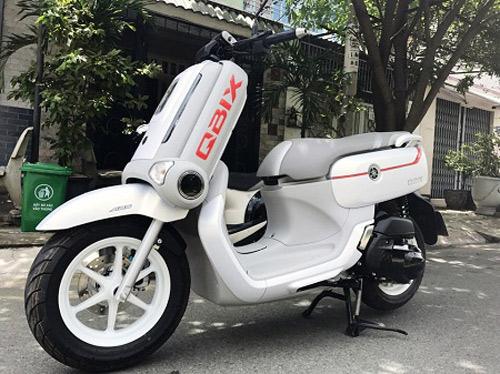"""Xe tay ga dáng """"độc, lạ"""" của Yamaha xuất hiện tại VN - 1"""