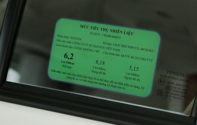 """Toyota Vios TRD - bản cao cấp nhất của """"vua"""" doanh số có gì? - 6"""