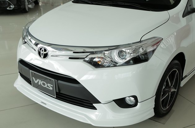 """Toyota Vios TRD - bản cao cấp nhất của """"vua"""" doanh số có gì? - 4"""