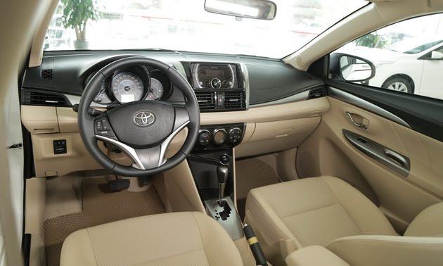 """Toyota Vios TRD - bản cao cấp nhất của """"vua"""" doanh số có gì? - 10"""