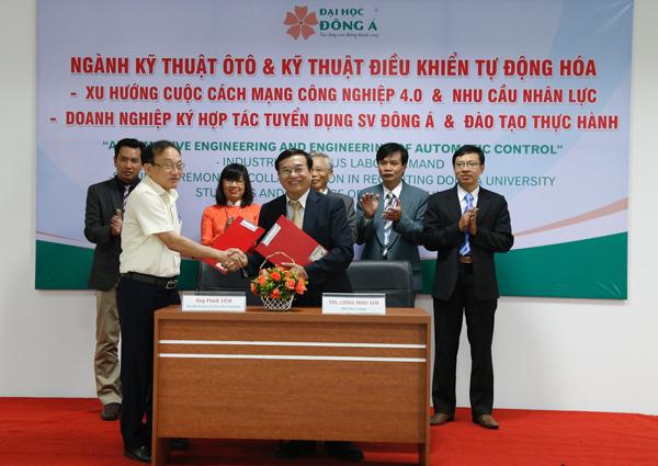 ĐH Đông Á đảm bảo việc làm 100% cho SV ngành CNKT ô tô và CNKT điều khiển tự động hóa - 1