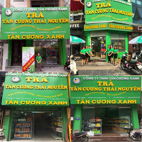 Hệ thống cửa hàng trà Thái Nguyên ngon - công ty TNHH Tân Cương Xanh - 1
