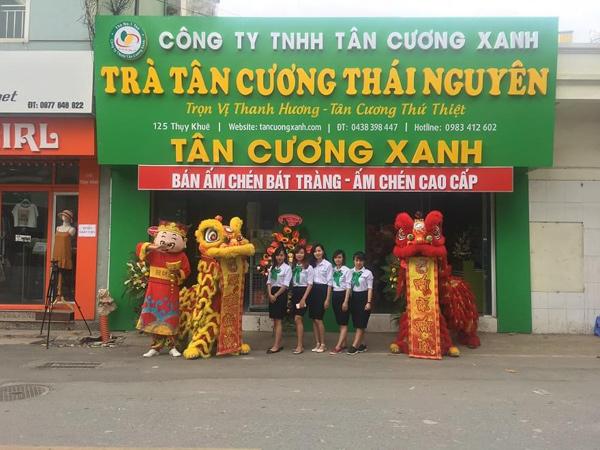 Hệ thống cửa hàng trà Thái Nguyên ngon - công ty TNHH Tân Cương Xanh - 2
