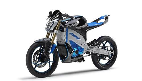 Yamaha sắp tung ra bộ đôi xe điện mới - 1
