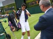 """Thể thao - Wimbledon """"phán xử"""": Tay vợt giả đau """"sạt nghiệp"""" luôn"""