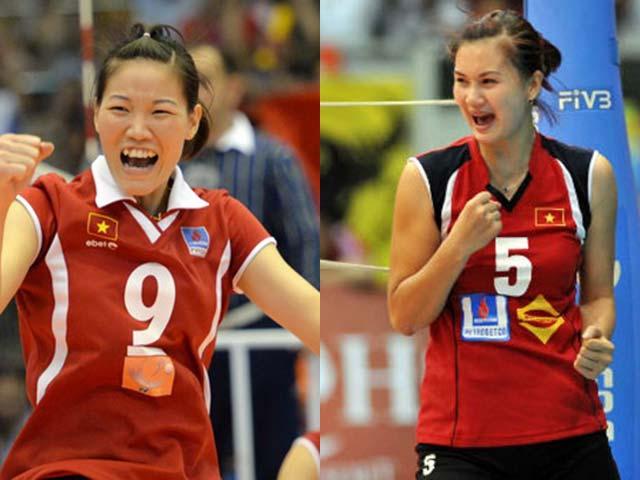 ĐT bóng chuyền nữ Việt Nam: Xem Kim Huệ, Ngọc Hoa thời hậu thầy Nhật