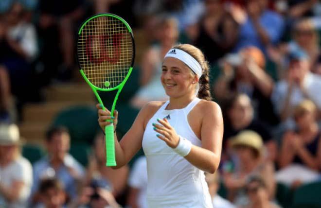 Wimbledon ngày 5: Ostapenko vững tiến, Tsonga sắp thua - 1