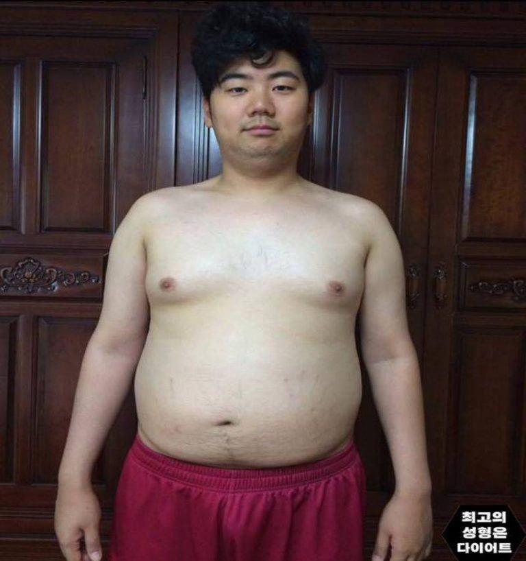 """Chàng béo """"lột xác"""" thành hot boy 6 múi khiến gái đẹp """"xin chết"""" - 1"""