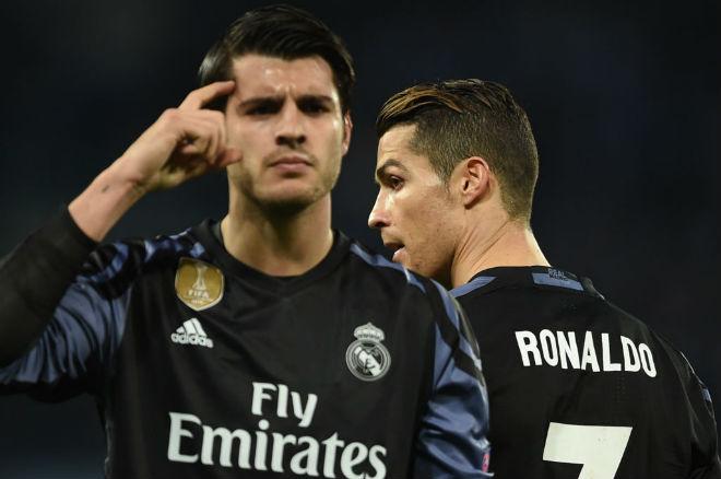 Morata: Con rối đáng thương trong cuộc chiến MU - Real - 2