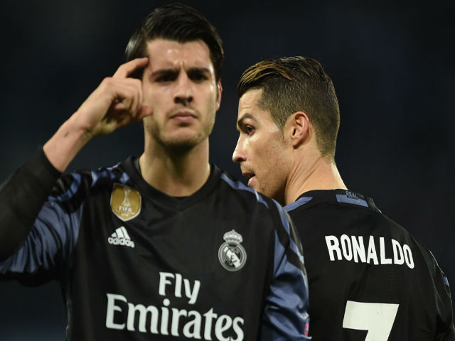 Morata: Con rối đáng thương trong cuộc chiến MU - Real