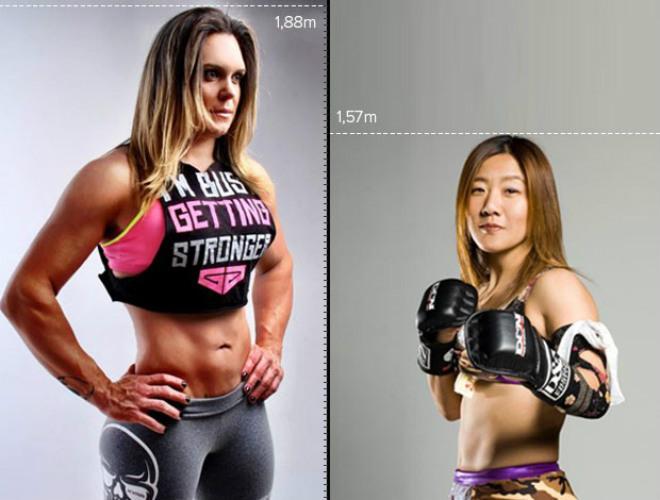 """Cú sốc MMA: """"Quái nữ khổng lồ"""" đá gãy tay đả nữ 45 tuổi - 1"""