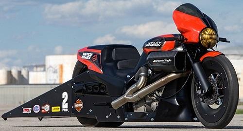 Street Rod 2017 bản độ sẽ tham gia giải đua NHRA Pro Stock Motorcycle - 1