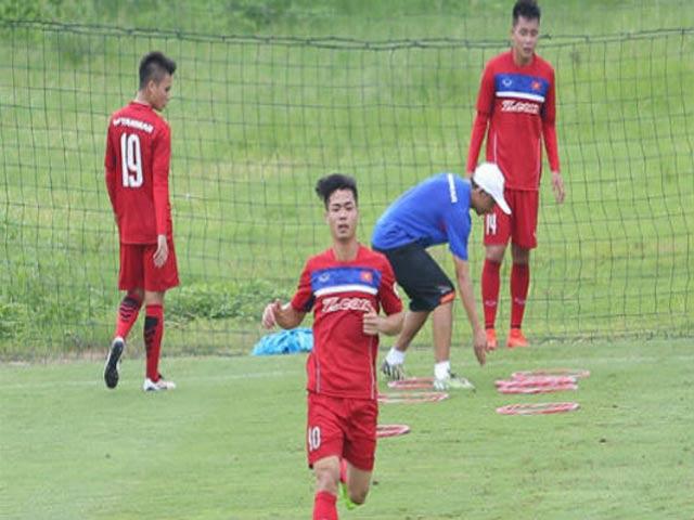 U23 Việt Nam: Căng sức dưới mưa, mất quân trước SEA Games