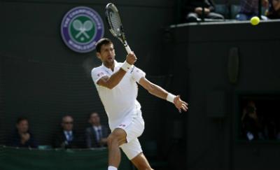 """Chi tiết Djokovic - Gulbis: Đi tiếp sau màn """"đấu súng""""  (Vòng 3 Wimbledon) (KT) - 7"""