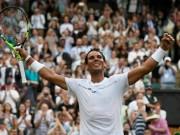 Thể thao - Wimbledon 2017: Trên sân cỏ, Nadal đang chơi (gần) như Federer