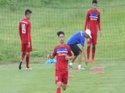 Bóng đá - U23 Việt Nam: Căng sức dưới mưa, mất quân trước SEA Games