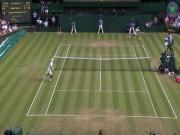 """Thể thao - Clip hot Wimbledon: Nadal lên lưới sập bẫy """"cáo già"""""""