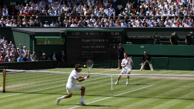 Tin nóng Wimbledon ngày 7: Federer lại nịnh vợ Mirka - 9