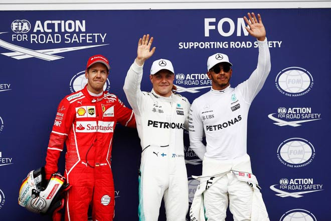 Đua xe F1, phân hạng Austrian GP: Căng như dây đàn - 1