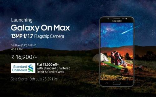 Ra mắt Galaxy On Max cấu hình tầm trung - 1