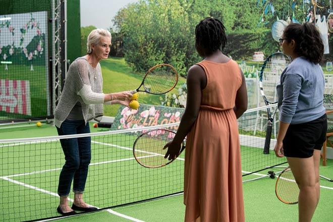 Tin nóng Wimbledon ngày 7: Federer lại nịnh vợ Mirka - 8