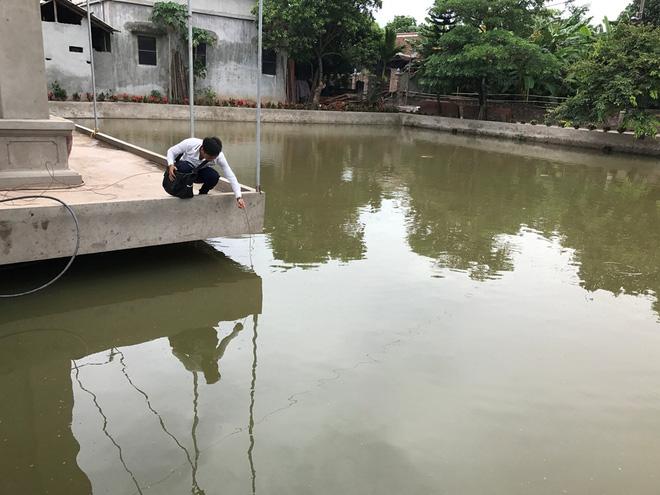 Tin mới nhất vụ 4 người tử vong dưới ao làng ở Hà Nội - 1