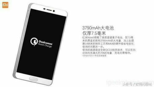 Rò rỉ cấu hình Xiaomi Redmi Note 5 giá rẻ - 3
