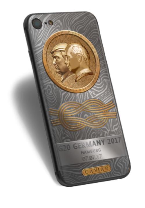 Xuất hiện Nokia 3310 chạm hình Tổng thống Trump và Putin, giá siêu đắt - 2