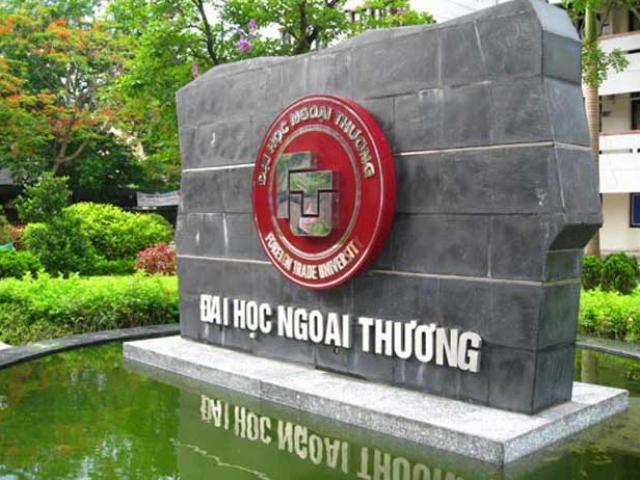 Điểm chuẩn Trường ĐH Ngoại thương năm 2017 dự kiến tăng