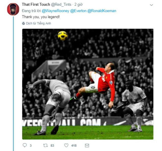 Rooney trở về Everton, Fan MU nức nở chia tay huyền thoại - 5