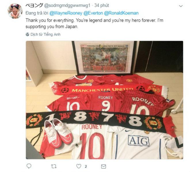 Rooney trở về Everton, Fan MU nức nở chia tay huyền thoại - 7