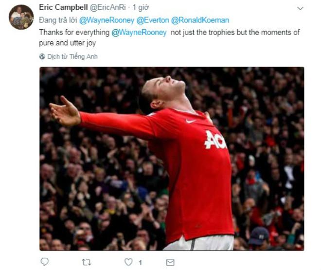 Rooney trở về Everton, Fan MU nức nở chia tay huyền thoại - 8