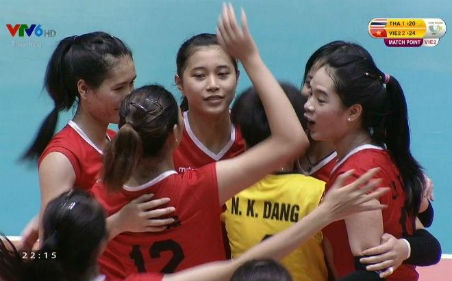 Tuyển trẻ Việt Nam - Tuyển trẻ Thái Lan: Nghẹn ngào màn rượt đuổi (Bóng chuyền VTV Cup) - 1