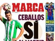 """Bóng đá - Real đón """"tiểu Iniesta"""", Barca thua La Liga từ vòng gửi xe"""
