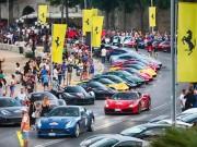 Tin tức ô tô - Hàng trăm siêu xe Ferrari diễu hành tại quê nhà Italia