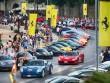 Hàng trăm siêu xe Ferrari diễu hành tại quê nhà Italia