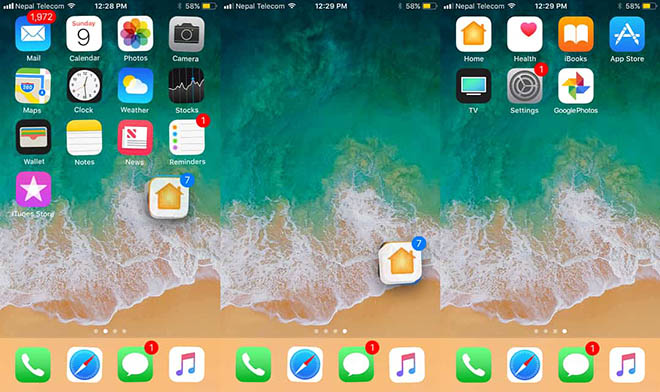Thủ thuật iOS 11: Di chuyển, sắp xếp nhiều biểu tượng ứng dụng cùng lúc - 2