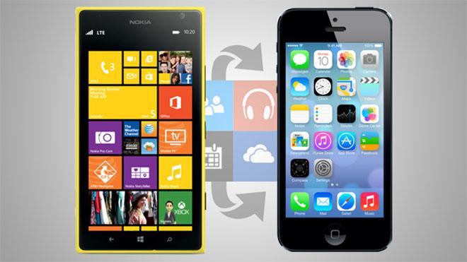 Chuyển dữ liệu từ Windows Phone sang iPhone - 2