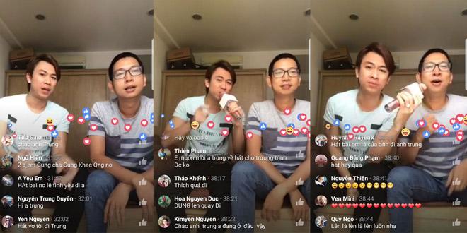 Hồ Việt Trung livestream hát Bolero với gói Facebook data siêu rẻ - 2