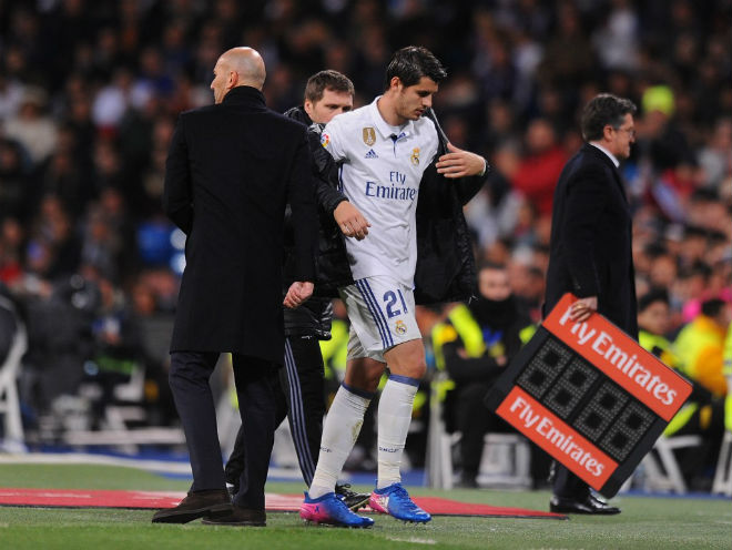 """Zidane họp """"bố già"""" Perez: Định đoạt tương lai Morata, James - 2"""