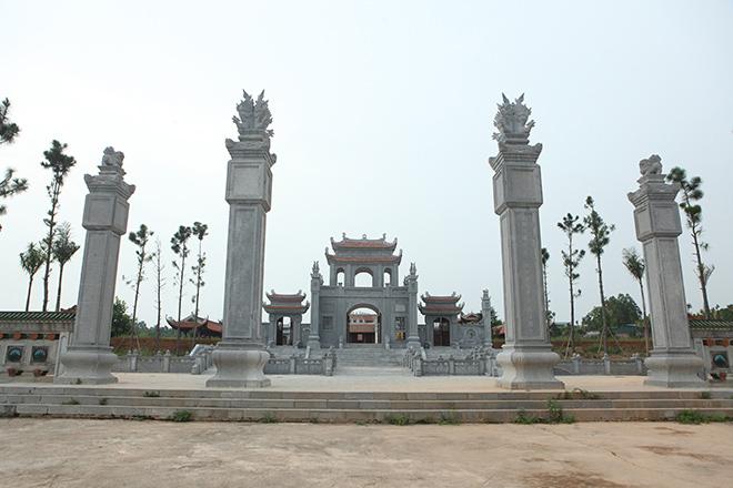 Hình ảnh mới nhất về Văn Miếu gần 300 tỷ đồng ở Vĩnh Phúc - 2