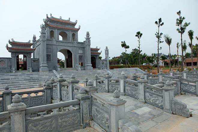 Hình ảnh mới nhất về Văn Miếu gần 300 tỷ đồng ở Vĩnh Phúc - 3